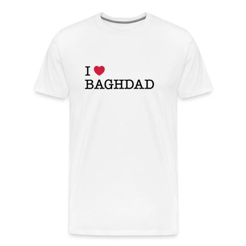 I LOVE BAGHDAD - Men's Premium T-Shirt