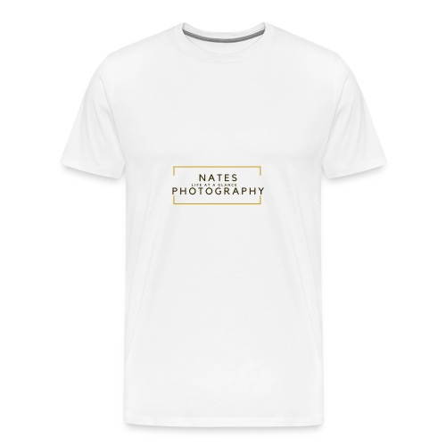 Nates photography 2.0 - Men's Premium T-Shirt