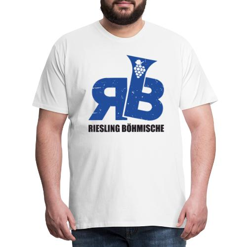 Riesling Böhmische - Männer Premium T-Shirt