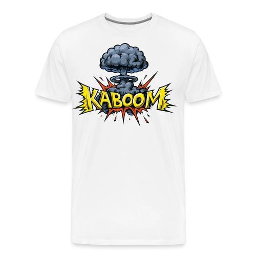 Explosion nucléaire Kaboom - T-shirt Premium Homme