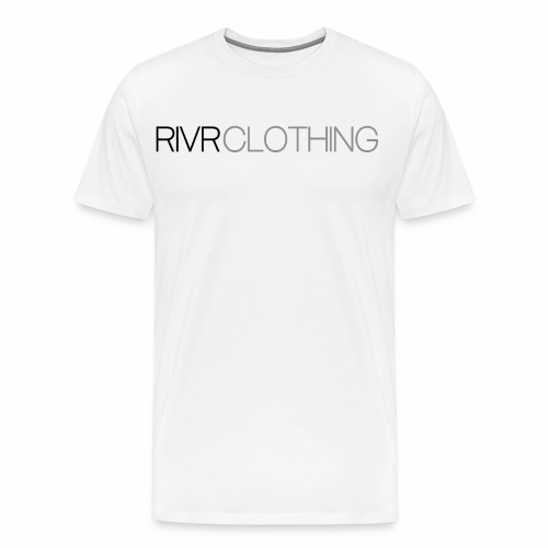RIVR - BLACK N' GRAY - Premium-T-shirt herr