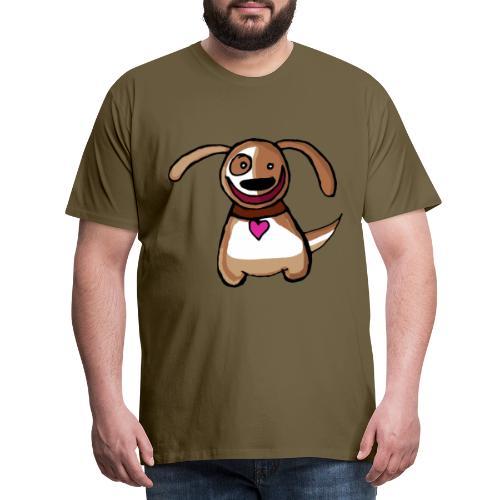 Titou le chien - T-shirt Premium Homme