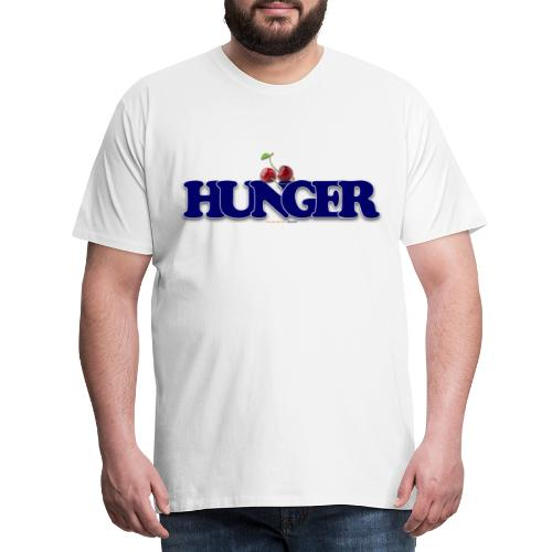 TShirt Hunger cerise - T-shirt Premium Homme