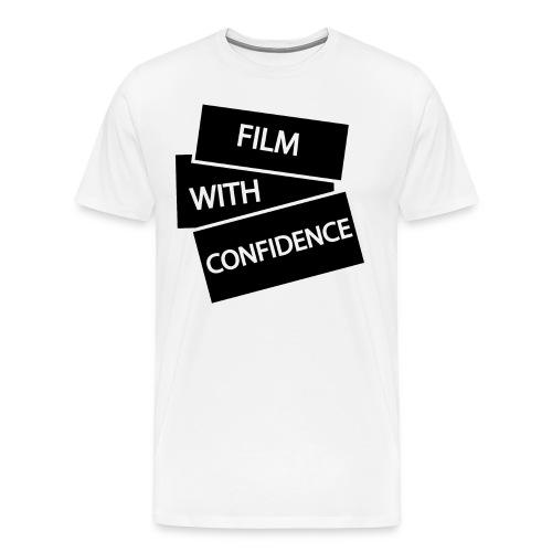 Film with Confidence - Men's Premium T-Shirt