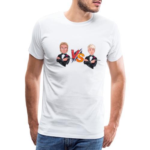 Ducky vs Booing - Herre premium T-shirt