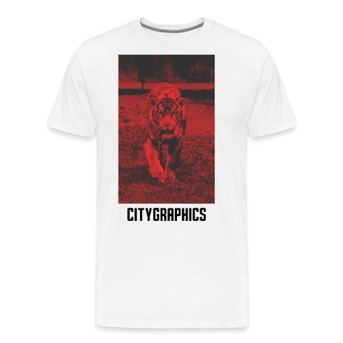 Tiger Red - Männer Premium T-Shirt