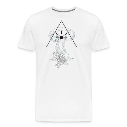 dog and god - Men's Premium T-Shirt