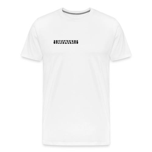 CROW TEXT ZEBRA - Men's Premium T-Shirt
