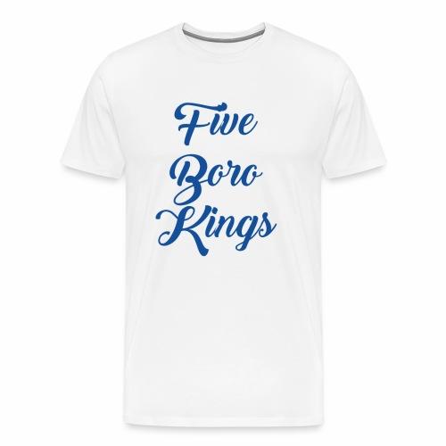 Five Boro Kings - Männer Premium T-Shirt