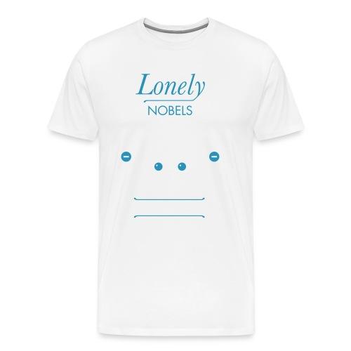 the lonely nobels helium - Premium T-skjorte for menn
