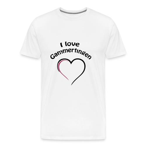 i love gammertingen - Männer Premium T-Shirt