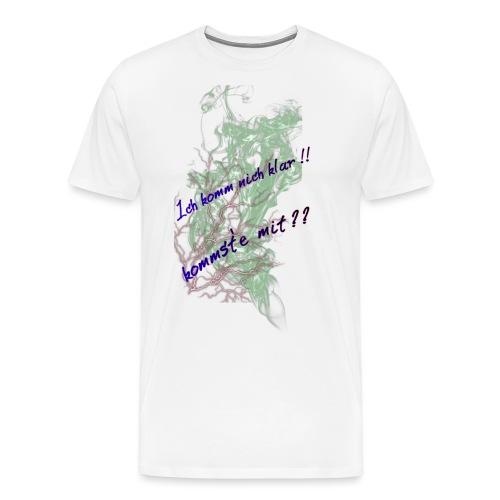 komm klar - Männer Premium T-Shirt