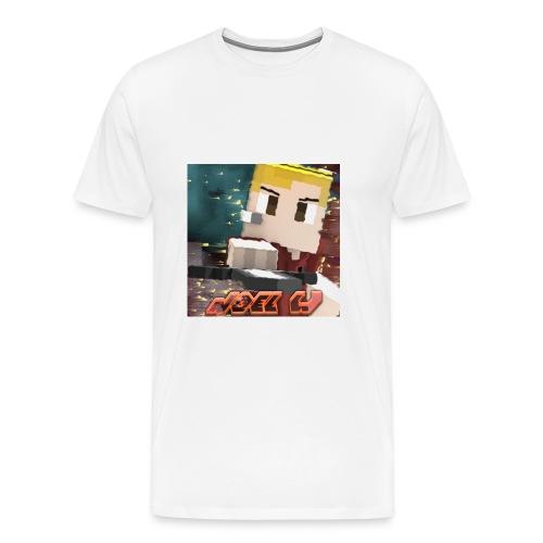 Noel W Profil - Männer Premium T-Shirt