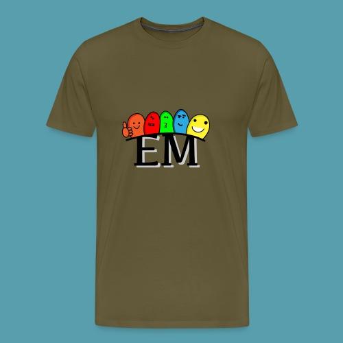 EM - Miesten premium t-paita