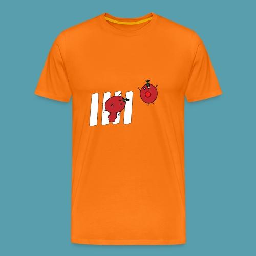 tomaatit - Miesten premium t-paita