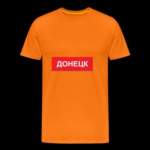 Donezk - Utoka - Männer Premium T-Shirt
