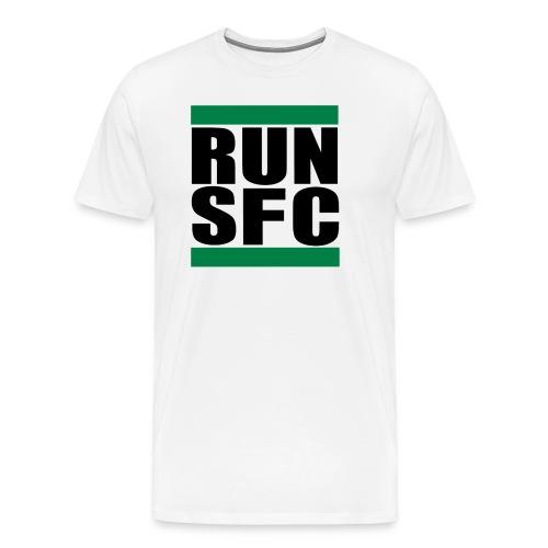 run sfc png - Männer Premium T-Shirt