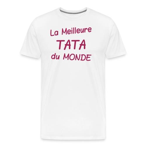 La meilleure tata du monde - T-shirt Premium Homme