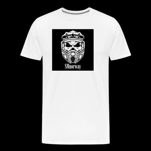SMnorway - Premium T-skjorte for menn