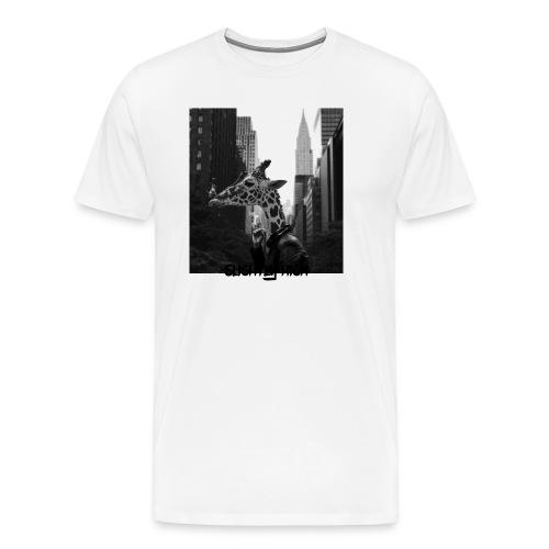 Slightly High Logo - Männer Premium T-Shirt