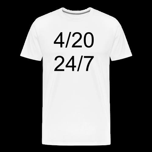4/20 - 24/7 - Männer Premium T-Shirt