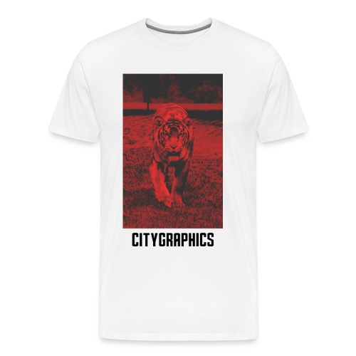 Tiger Red - Männer Premium T-Shirt