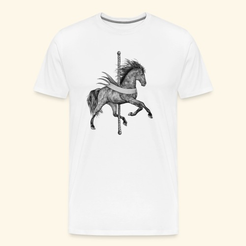 Carousel Horse - Men's Premium T-Shirt
