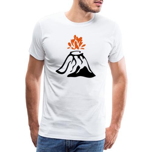 Volcan - T-shirt Premium Homme