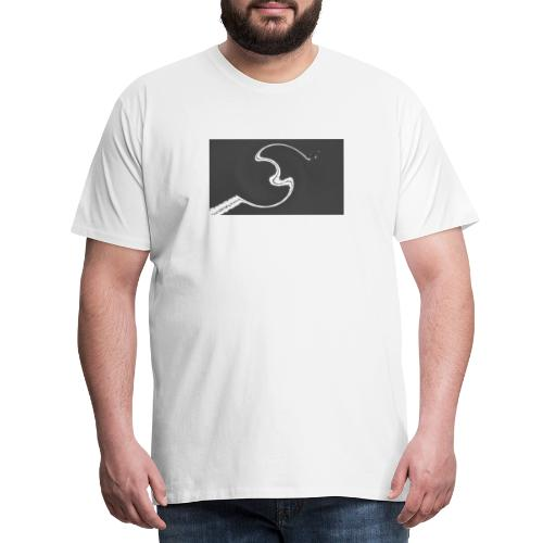 Avión Swirl - Camiseta premium hombre