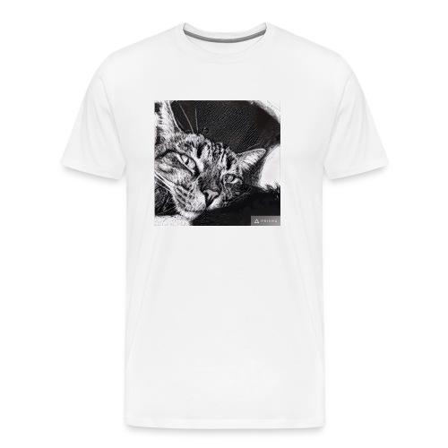 Katze1 - Männer Premium T-Shirt