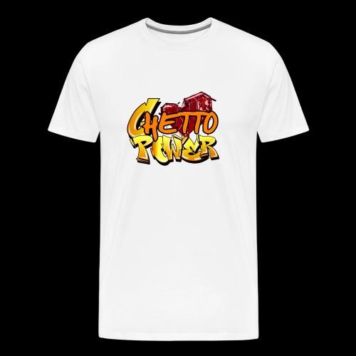 ghetto power - Maglietta Premium da uomo
