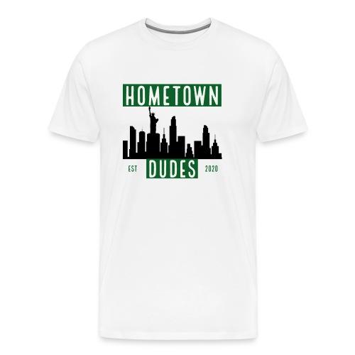 hometown dudes - Herre premium T-shirt