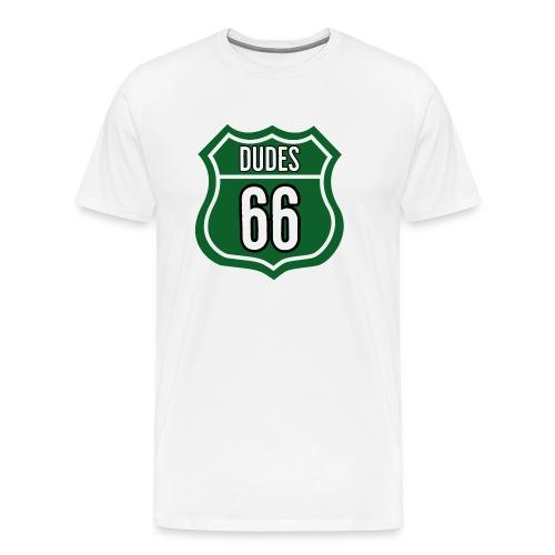 Dudes 66 - Herre premium T-shirt