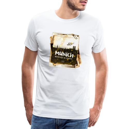 Munich believes frame - Männer Premium T-Shirt
