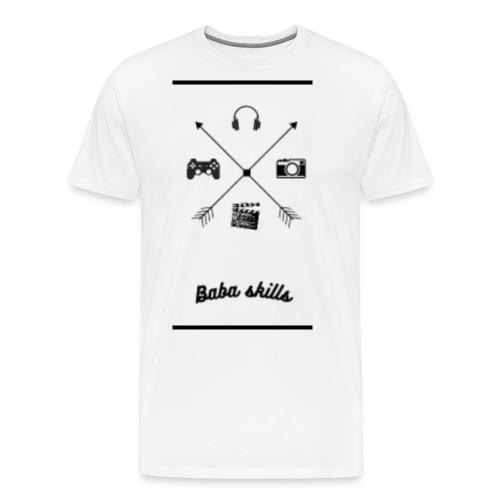 Babaskills Merch - Männer Premium T-Shirt