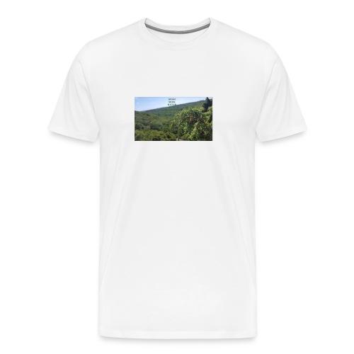 stenshufvud - Premium-T-shirt herr
