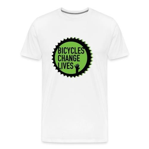 BCL Green Cog - Men's Premium T-Shirt