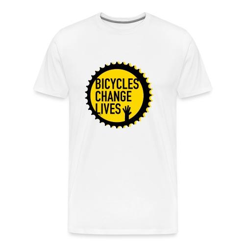 BCL Yellow Cog - Men's Premium T-Shirt