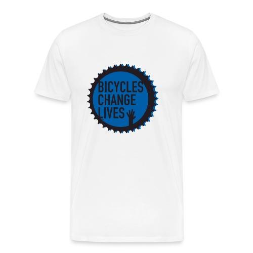 BCL Blue Cog - Men's Premium T-Shirt