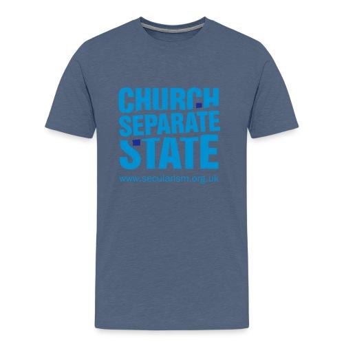 nssshirtchurchstate - Men's Premium T-Shirt