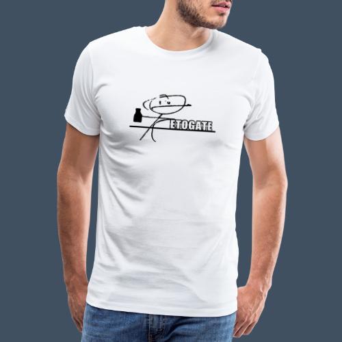 Etogate Schwarz - Männer Premium T-Shirt
