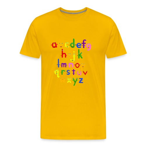 a to z t shirt 1 - Men's Premium T-Shirt