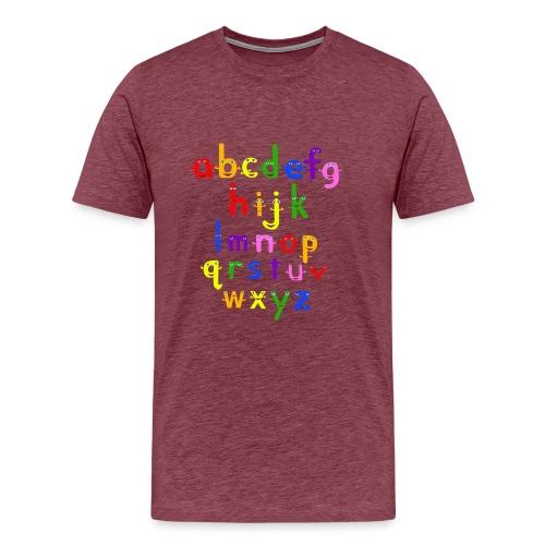 a to z t shirt 1 - Men's Premium T-Shirt