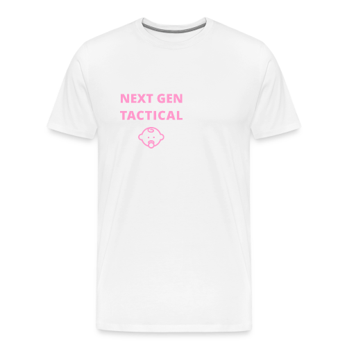 Tactical Baby Girl - Mannen Premium T-shirt