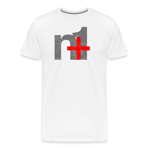 n 1 png - Men's Premium T-Shirt