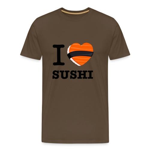 IloveSushi png - T-shirt Premium Homme