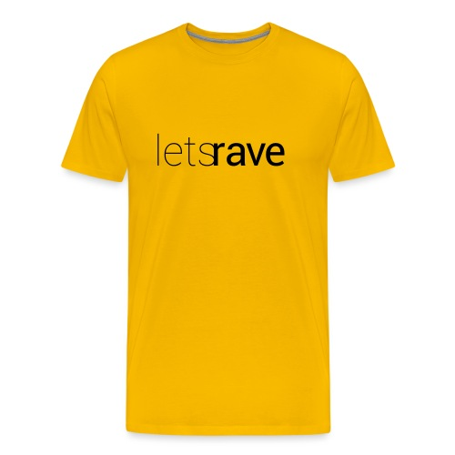 letsrave - Männer Premium T-Shirt