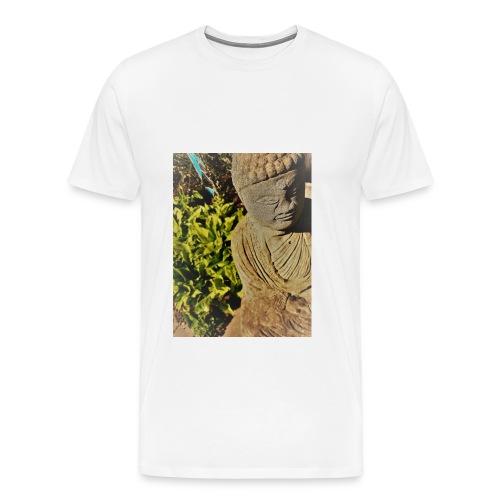 Garden Buddha - Men's Premium T-Shirt