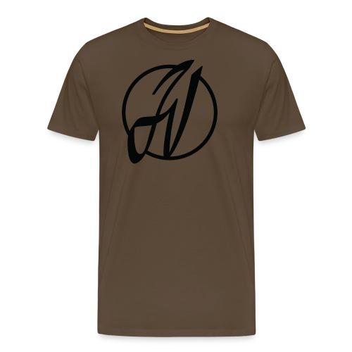 JV Guitars - logo noir - T-shirt Premium Homme