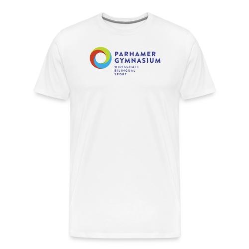 ParhamerGymnasium Logo 2016 jpg - Männer Premium T-Shirt